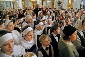 Участниками празднования именин Екатеринбурга стали дети со всей митрополии