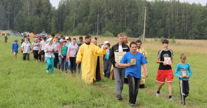 Детский туристический слет по-православному