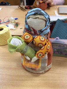 Народная кукла руками педагогов