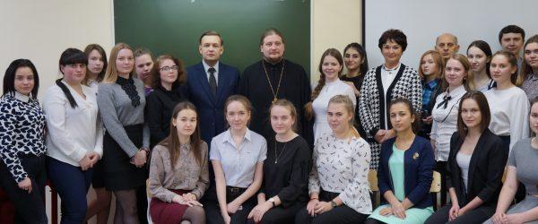 Встречи с молодежью прошли в двух учебных заведениях города
