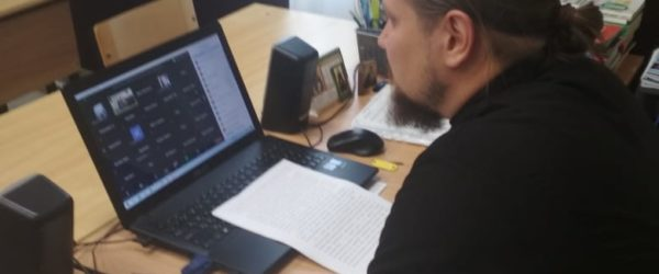 "Видеоконференция ""Александр Невский: фактор святости"""
