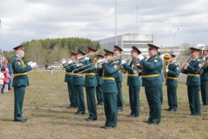 Парк патриотического воспитания открыли в городе Лесной
